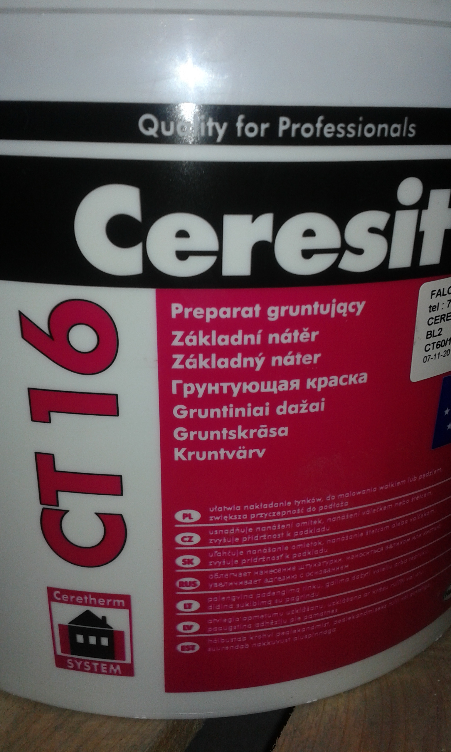 Ceresit CT 16 penetrace 10L